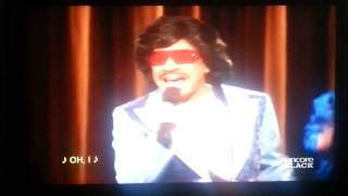 "Deacon Frye as James Brown ""Amen"""