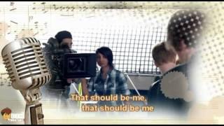 Justin Bieber - That should be me feat. Rascal Flatts (Karaoke Music Video)