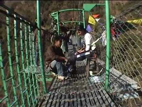 Bungy Jumping in Nepal!