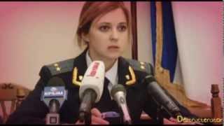 Natalia Poklonskaya set to 90s love songs