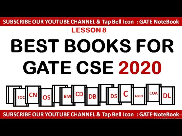 Best Science Books 2020 Download thumbnail for Best Books For GATE Computer Science 2020
