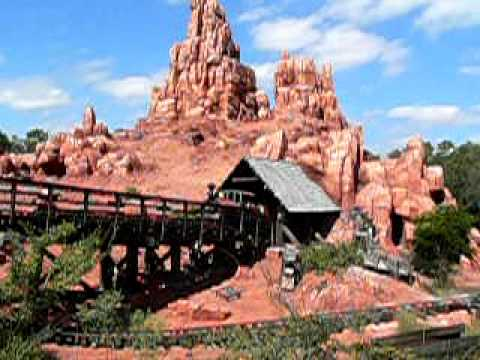 00006 USA FL Orlando Disneyworld Big Thunder Mountain Railroad