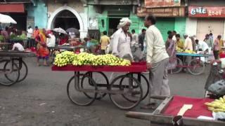 The market of Una (Gujarat - India)