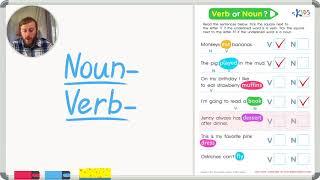 Nouns vs Verbs