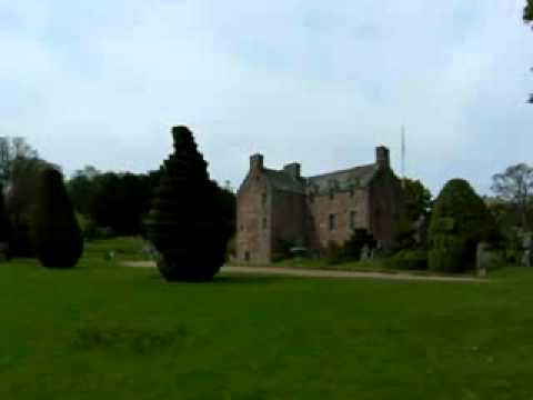 Fingask Castle Topiary Scotland
