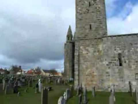 St Andrews Cathedral Graveyard Scotland