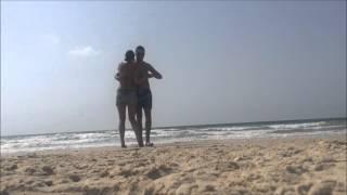 Waves Kizomba Impro - Ivan & Jenny (KizombaHolics BG) - Tel Aviv - Sep 2015