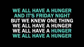 Hunger Karaoke Florence + The Machine