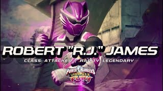 "Power Rangers: Legacy Wars (Jungle Fury) Robert ""RJ"" James (Moveset)"