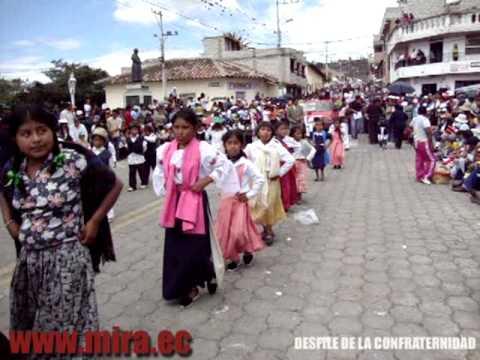 Desfile de la Confraternidad, Fiestas de la Stma. Virgen de la Caridad – Mira 2-02-2010