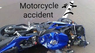 CCTV /Motorcycle accident