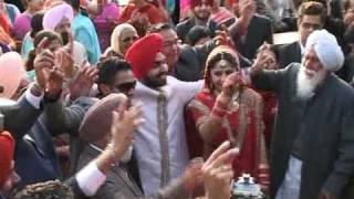 Harbhajan Mann at Gurbhajan Gill's son's wedding Part 2
