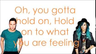 Up - Olly Murs ft. Demi Lovato - Lyrics
