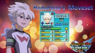 Hakuryuu's Moveset in Inazuma Eleven Go Strikers 2013