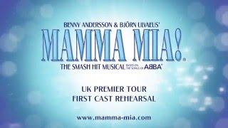 MAMMA MIA! UK Tour - First Cast Rehearsals
