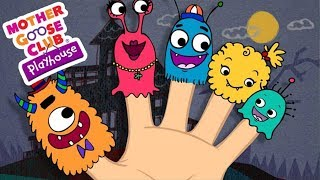 Halloween Songs | LIVE Baby Songs | Monster Finger Family | Mother Goose Club Playhouse Kids Song
