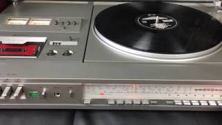 just2ndhandland store. Panasonic Stereo Music Centre SG-4000 Hi-Fi Turntable Radio Cassette - Japan