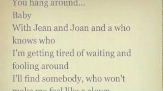 Evil ways by Santana - with lyrics