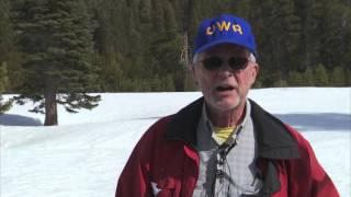 March Snowpack Survey Sierra Nevada