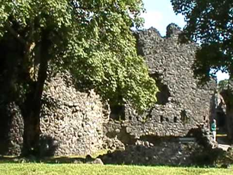 the ruins of Inverlochy Castle, Scotland 2009