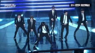 엑소K(EXO K), 슈퍼주니어(Super Junior) '쏘리쏘리(Sorry Sorry)' 완벽한 무대 [MD동영상]