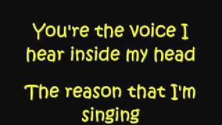 Demi Lovato ft. Joe Jonas - This is me (Lyrics) ♥