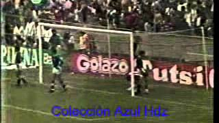 Cruz Azul - Chivas Final 86-87 (Ida)