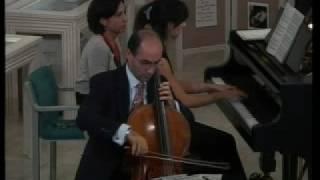 Shostakovich Trauriges lied Leandro Carino Sara Danti from Walton's House sept 2008 3 di 10