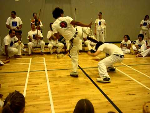 Capoeira Senzala Scotland – Edinburgh – Stephen's Batizado :)