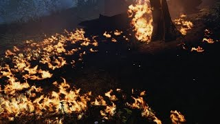 Far Cry Primal: Burning Down A Forest