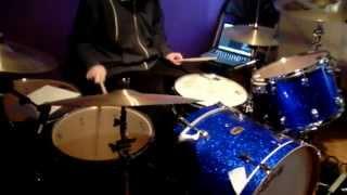 Drumming to The White Stripes - The Hardest Button To Button