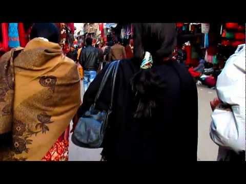 Streets of Thamel, Kathmandu, Nepal