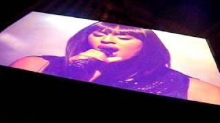 Alexandra Burke - Hallelujah - BBC Switch Live - 2009  - FRONT ROW
