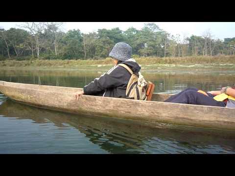 Chitwan-隔壁的船據說很晃
