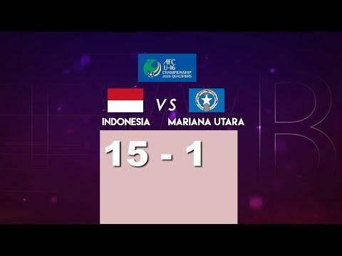 Download Video INDONESIA 15 VS 1 MARIANA UTARA AFC U-16 CHAMPIONSHIP QUALIFIERS