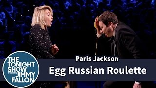 Egg Russian Roulette with Paris Jackson