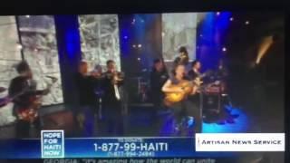 Marivaldo Dos Santos Playing with Sting