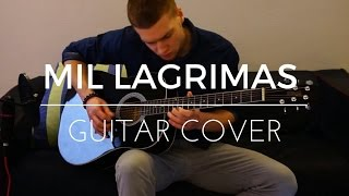 Mil Lagrimas - Nicky Jam (Guitar Cover by Don Dom)