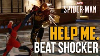 Spiderman PS4 : How to Beat Shocker Boss on Spectacular Difficulty (Hard Mode)