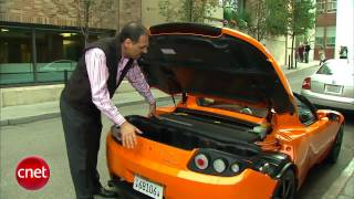 Car Tech   2010 Tesla Roadster Sport review