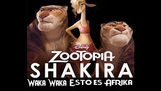 Zootopia - Gazelle/Waka Waka Esto Es Afrika