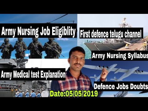 Download thumbnail for Army selection process Explanation in telugu
