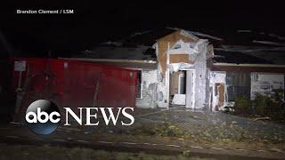 Tornadoes wreak havoc overnight in Dallas l ABC News