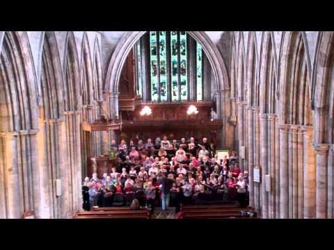 Choir Rehearsing Dunblane Stirlingshire Scotland September 1st