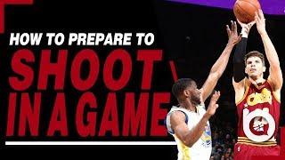 How To Prepare To Shoot In A Basketball Game