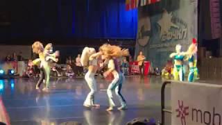 IDO European Disco Dance Championships 2017, Aino Merilä & Iiris Leino from Finland