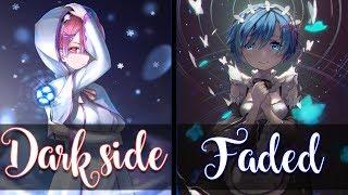 Nightcore - Darkside & Faded (Mash-up) (Switching Vocals) - (Lyrics)