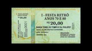 I FESTA RETRÔ ANOS 70 E 80