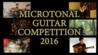 The World's First Microtonal Guitar Competition