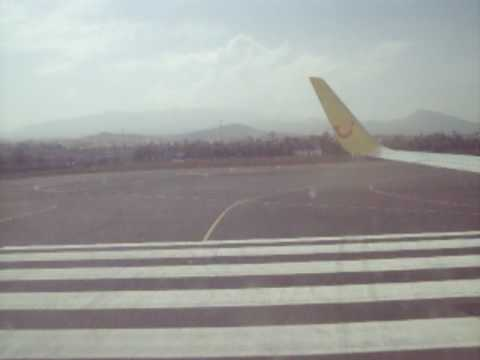 Take off from Las Palmas de Gran Canaria with TUIfly